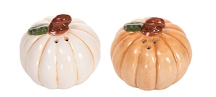 Pumpkin Salt and Pepper Set