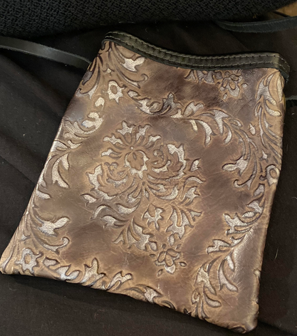 Crossbody Leather Pouch
