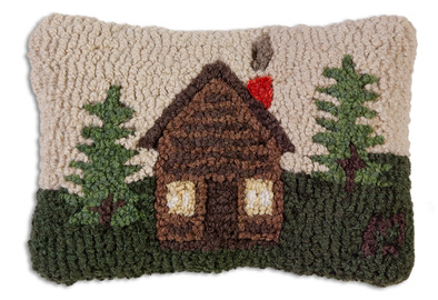 Rocky Hill Cabin Wool Pillow