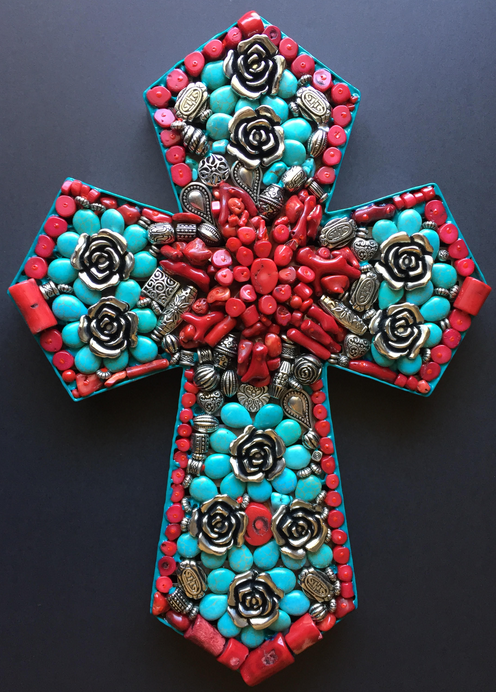 Southwest Roses Cross