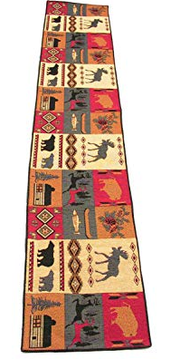 Rustic Lodge Table Runner (#12010)
