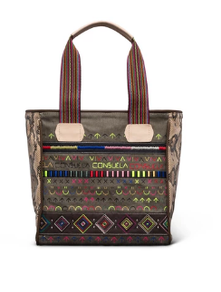 Consuela Ryan Fatigue Canvas Classic Tote
