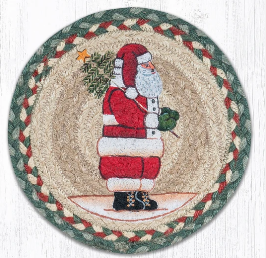 "Santa 10"" Capitol Earth Mat"