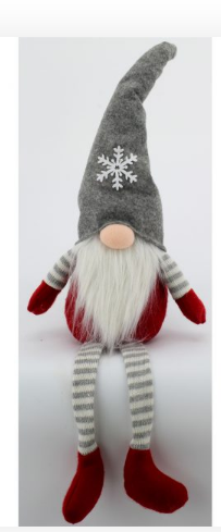 Gray Hat and Snowflake Gnome