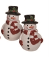 Snowman Salt and Pepper Shaker Set
