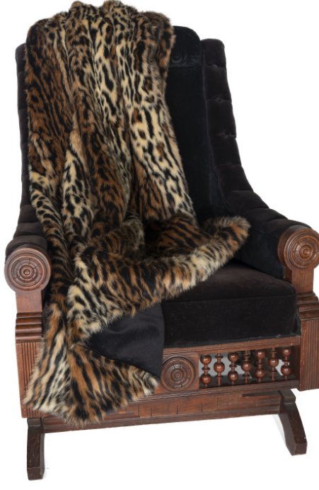 "Ditz Tiger Throw (60"" x 70"")"