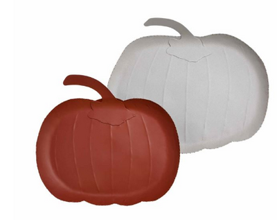 Matte Pumpkin Tin Trays