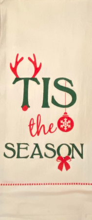 Tis The Season Dish Towel
