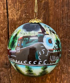 Summer Train Colorado Ornament