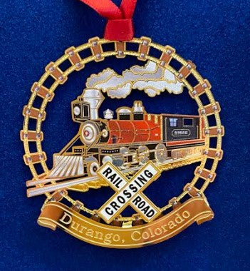 Durango Train Ornament