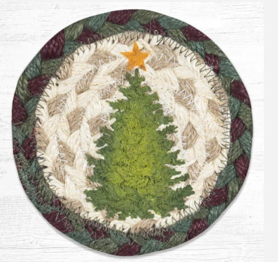 "Christmas Tree Capitol Earth 5"" Coaster"