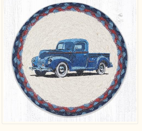 "Blue Truck 10"" Capitol Earth Mat"