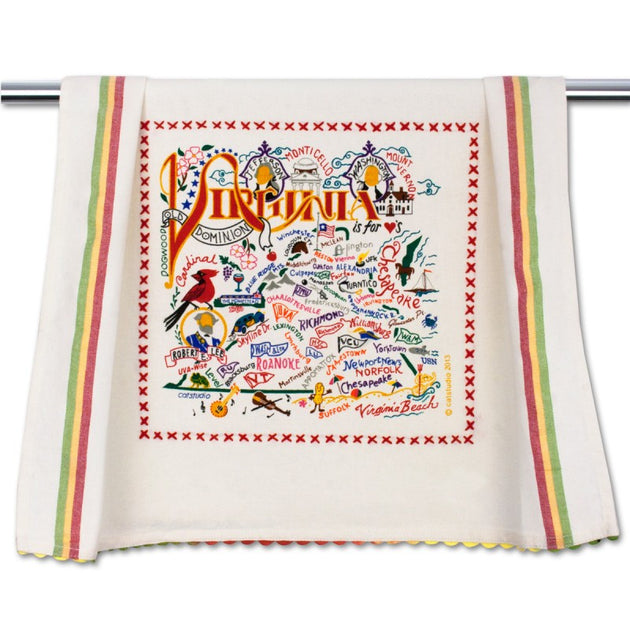 Virginia Dish Towel