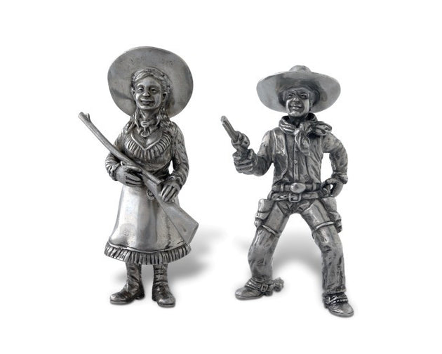 Cowpoke Couple Salt and Pepper Shakers