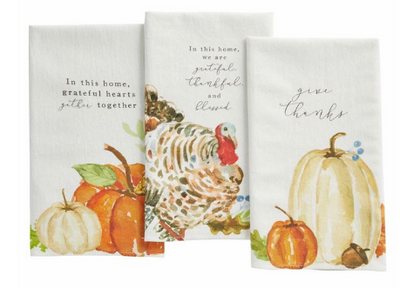 Fall Watercolors Towel
