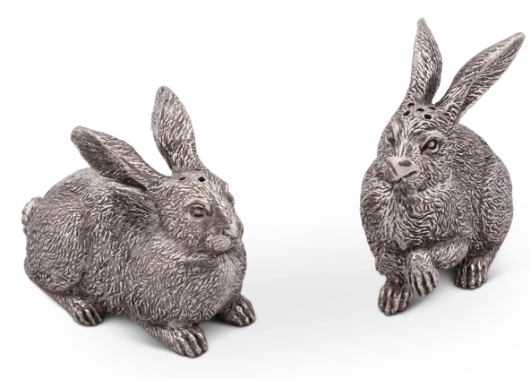 Wild Hare Salt and Pepper Shakers