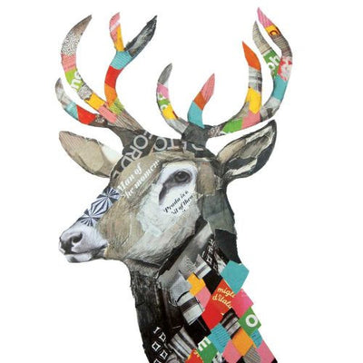 Regalia Deer (Beverage Napkin)