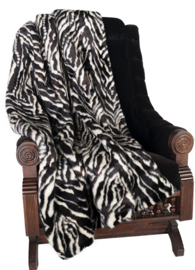 "Ditz Zebra Throw (60"" x 70"")"