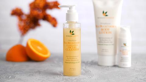 Better Nutrition Best of Natural Beauty Award Winner- Sea Buckthorn Exfoliating Cleanser