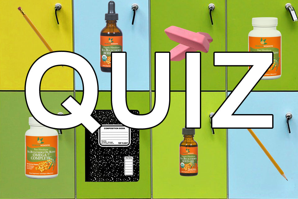 Quiz: Which Supplement is Right For You?