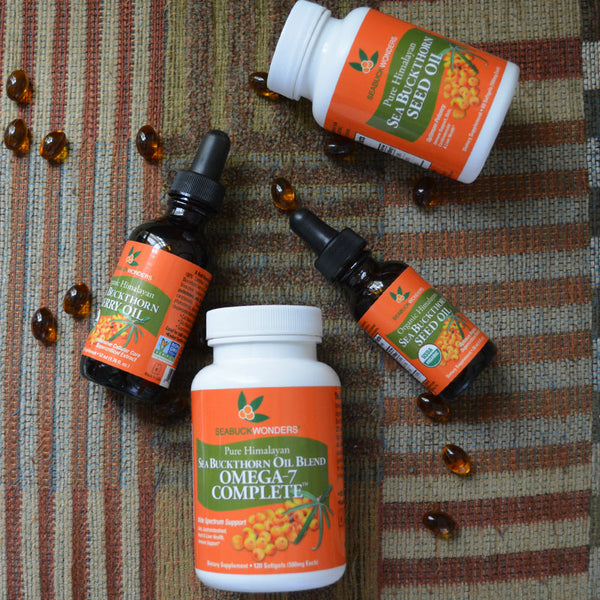 Sea Buckthorn Health Supplements