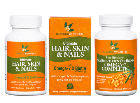 SeabuckWonders Products Naturally Rich in the omega 7