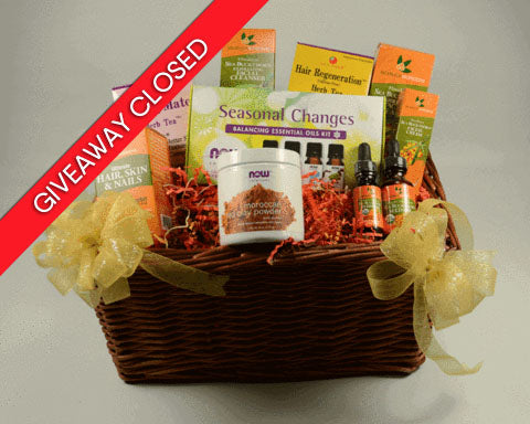 Fall Health & Beauty Basket SeabuckWonders Giveaway Contest National Breast Cancer Awareness Month!