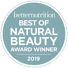 Exfoliating Facial Cleanser Wins Best of Natural Beauty Awards from Better Nutrition 2019