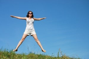 Healthy Springtime Tips- Get outside as much as possible: If you live in a colder climate, this one may be obvious to you! After being cooped up inside all winter, it just feels good to go outside and play. There are many benefits of being outdoors that are actually backed by science. Did you know that one study showed the rate of serotonin production in the brain was directly related to the duration of bright sunlight [1]. Exercising outside is also a great way to help you sleep better and can help your body get back to its natural circadian rhythm.