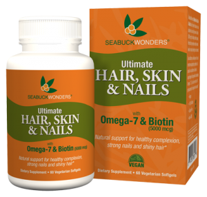 SeabuckWonders Ultimate Hair, Skin & Nails provides numerous benefits in one.