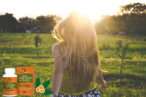 Biotin + Sea buckthorn are a winning combination!