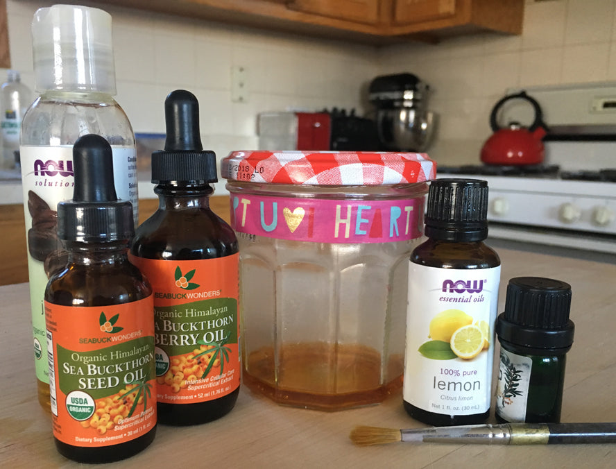 DIY Nail Care Oil: SeabuckWonders