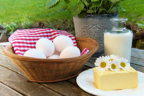 Avoid eggs and dairy if you have eczema