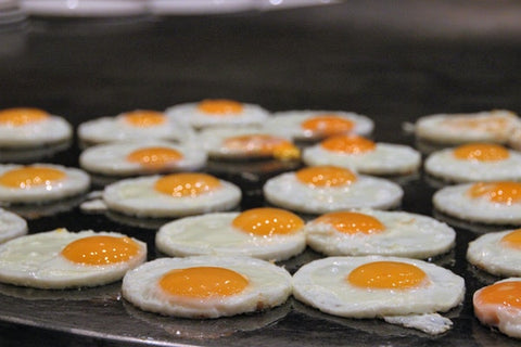 Triglycerides can come from eggs