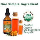 Sea Buckthorn Berry Oil Dropper - SeabuckWonders sea buckthorn products