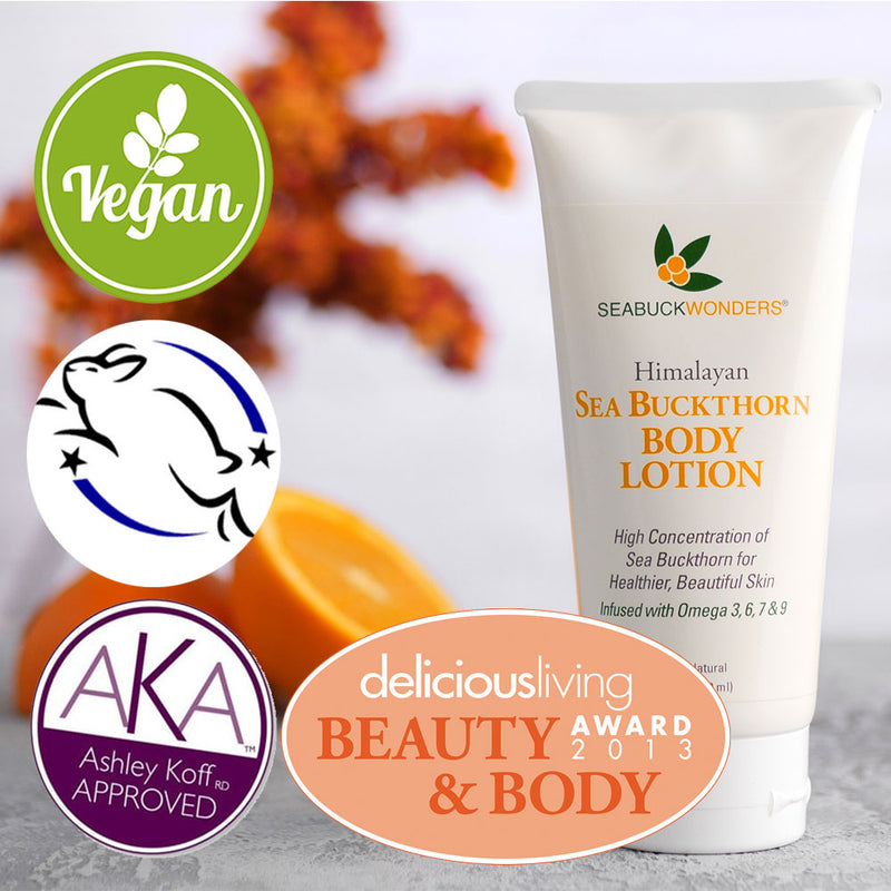 Body Lotion - SeabuckWonders sea buckthorn products