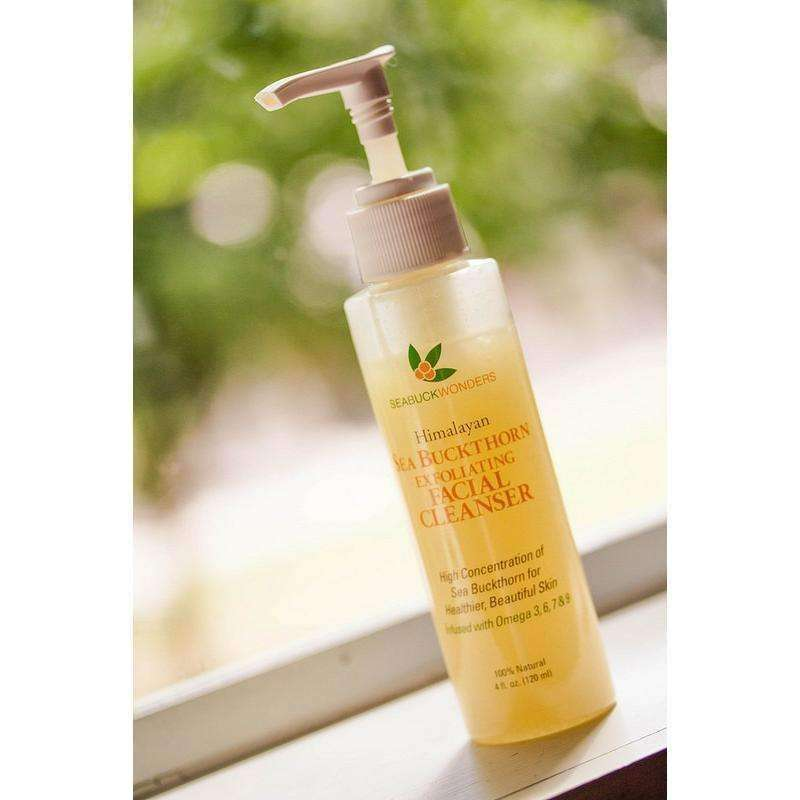 Exfoliating Facial Cleanser - SeabuckWonders sea buckthorn products