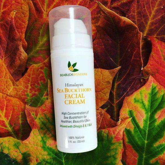 Sea Buckthorn Facial Cream - SeabuckWonders sea buckthorn products
