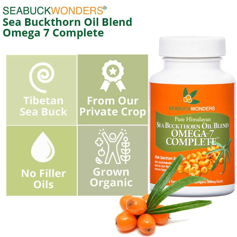Omega-7 Complete - SeabuckWonders sea buckthorn products