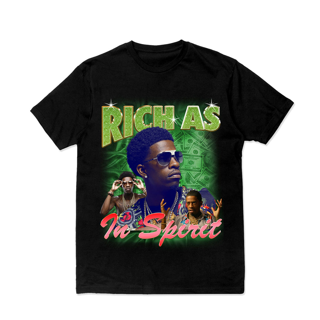 RICH S/S T-Shirt - Black