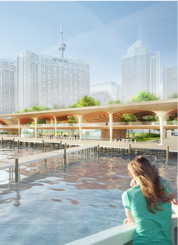 ferry terminal design architecture approach by boat