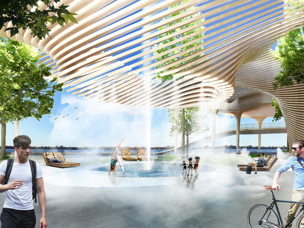 civic canopy architecture summer time mister rendering ProductPhotoImg