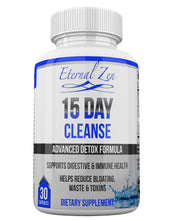 15 Day Cleanse, Lose Belly Fat with an Herbal Weight Loss Supplement, Probiotics for Digestive Cleansing Support