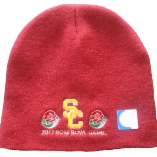 low priced ea94a 8b686 ... promo code for 2017 rose bowl cardinal usc beanie 2b6cb 8cf2f