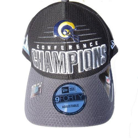 d1bb9389 Los Angeles Rams Conference Champions New Era Hat