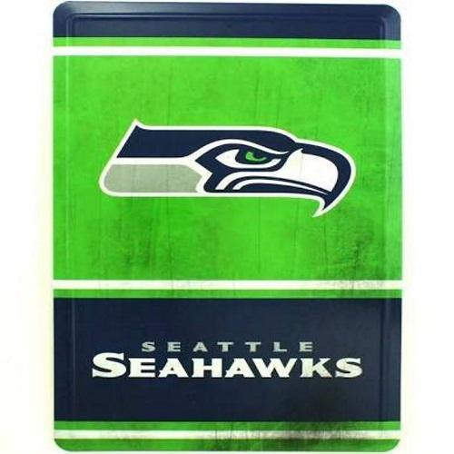 outlet store d6ce5 a3a2a Seattle Seahawks Tin Sign