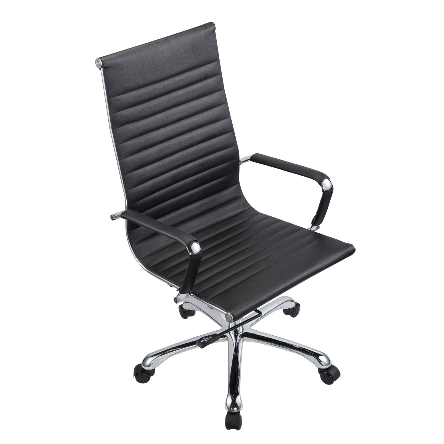 office black. Bikey Nova Collection, High Back Leather Executive Office Chair (Black) Black