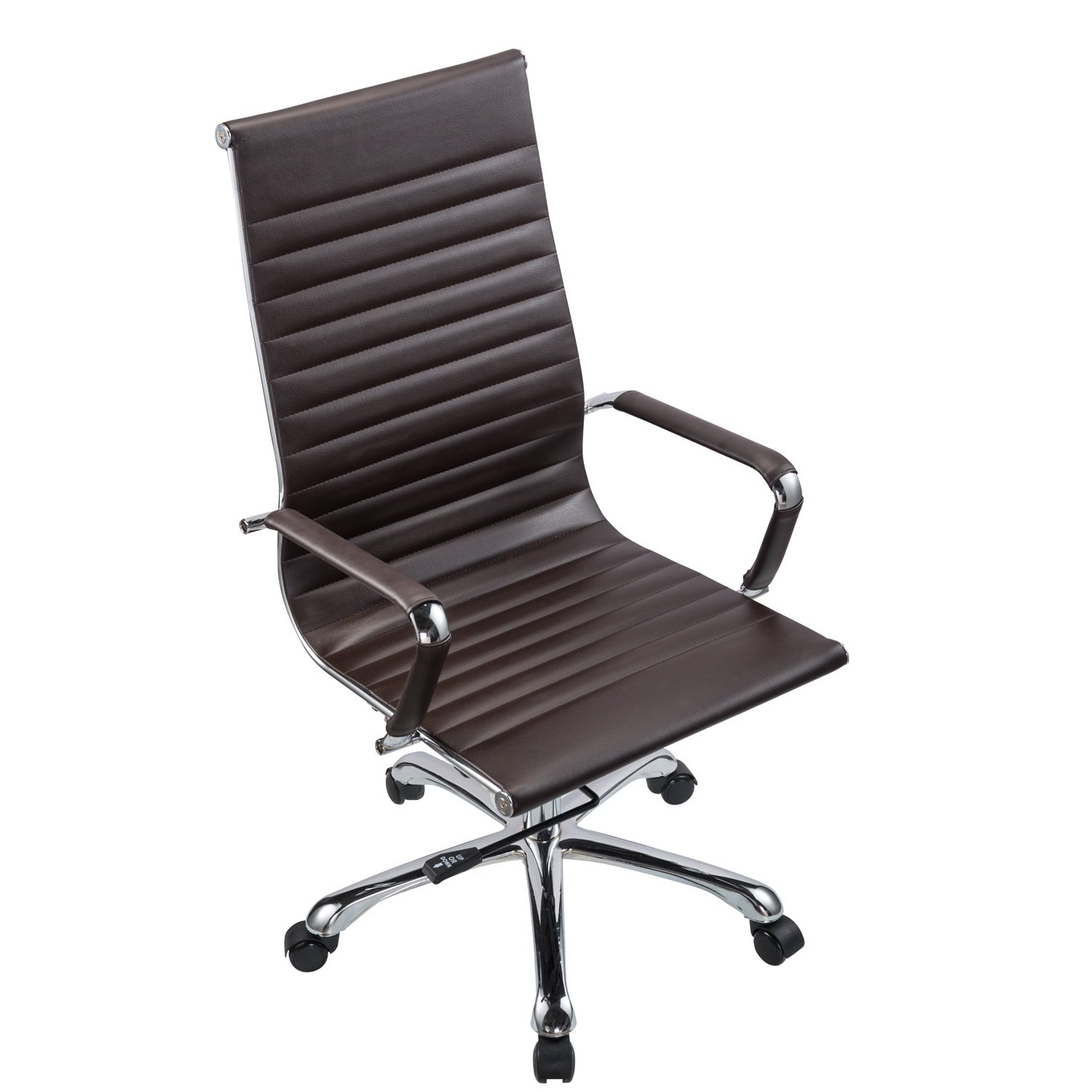 comfort office chair. Bikey Nova Collection, High Back Leather Executive Office Chair (Brown) Comfort