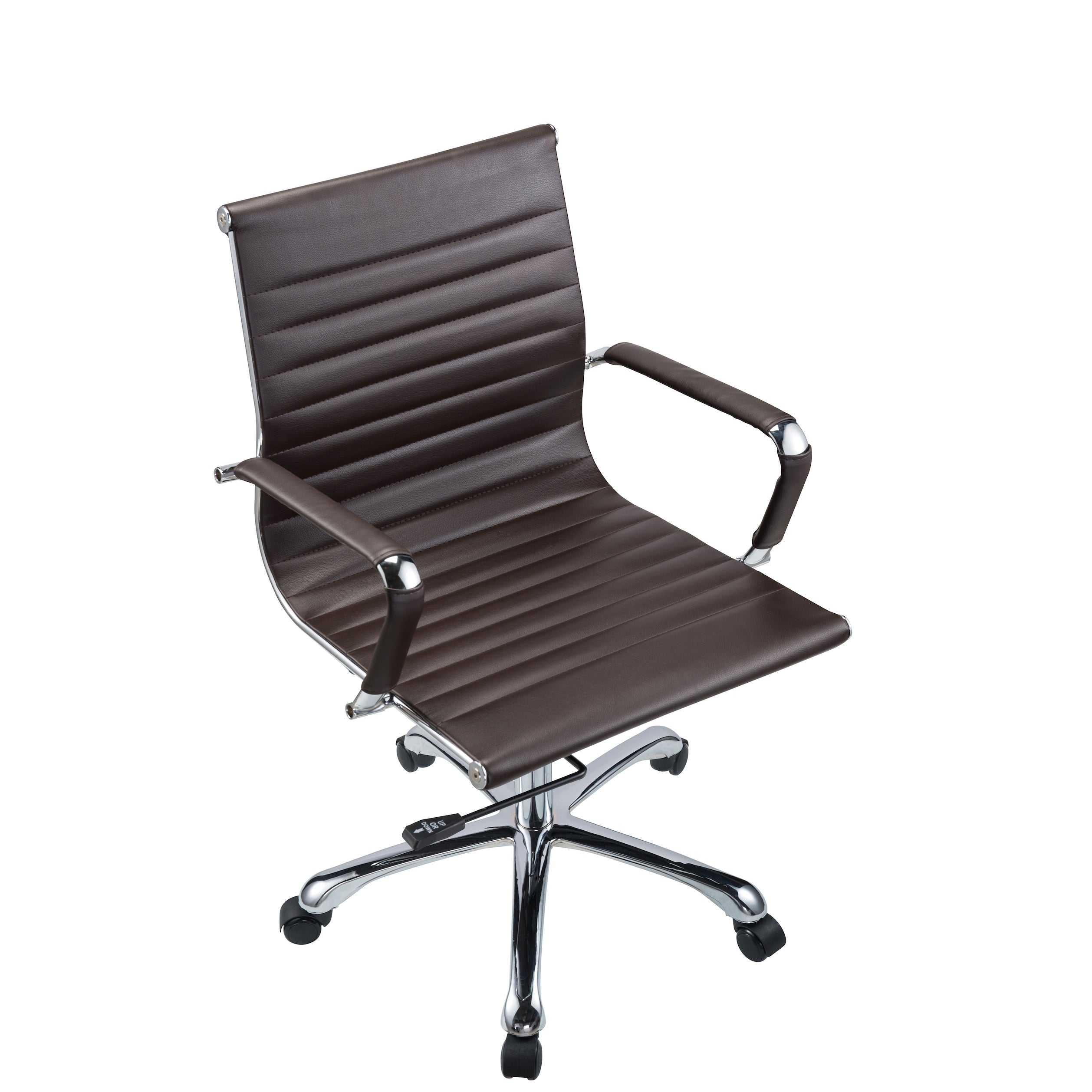 Metal Office Chairs. Bikey Nova Collection, Mid Back Leather Conference Office  Chair (