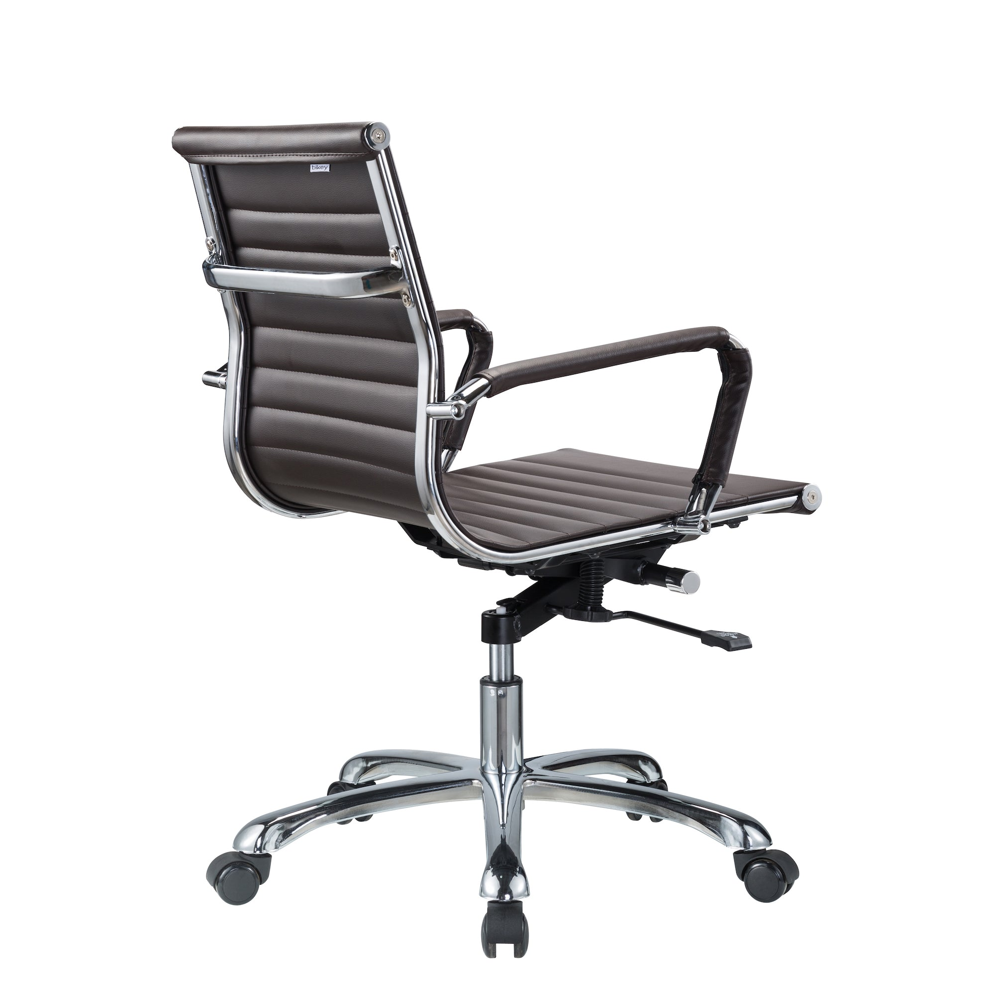 Bikey Nova Collection Mid Back Leather Conference fice Chair
